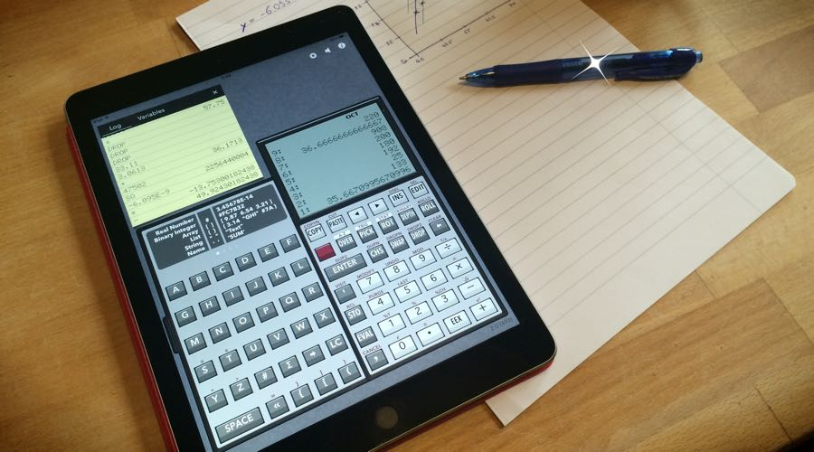 RPN 28x Calc in action